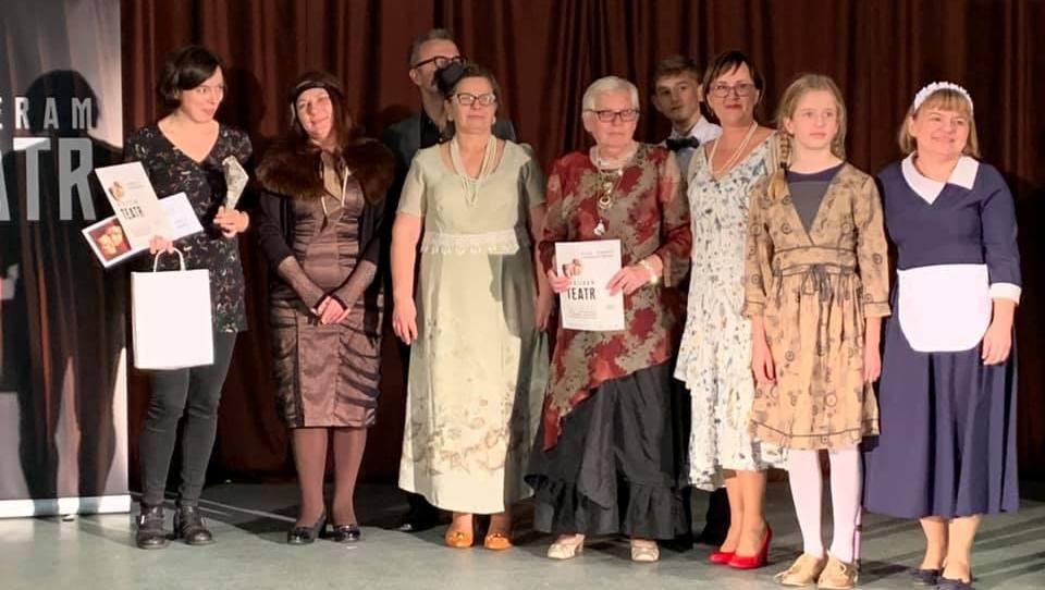 Grupa teatralna z Krzeczyna Małego