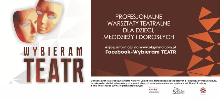 "2020 Plakat ""Wybieram Teatr"""