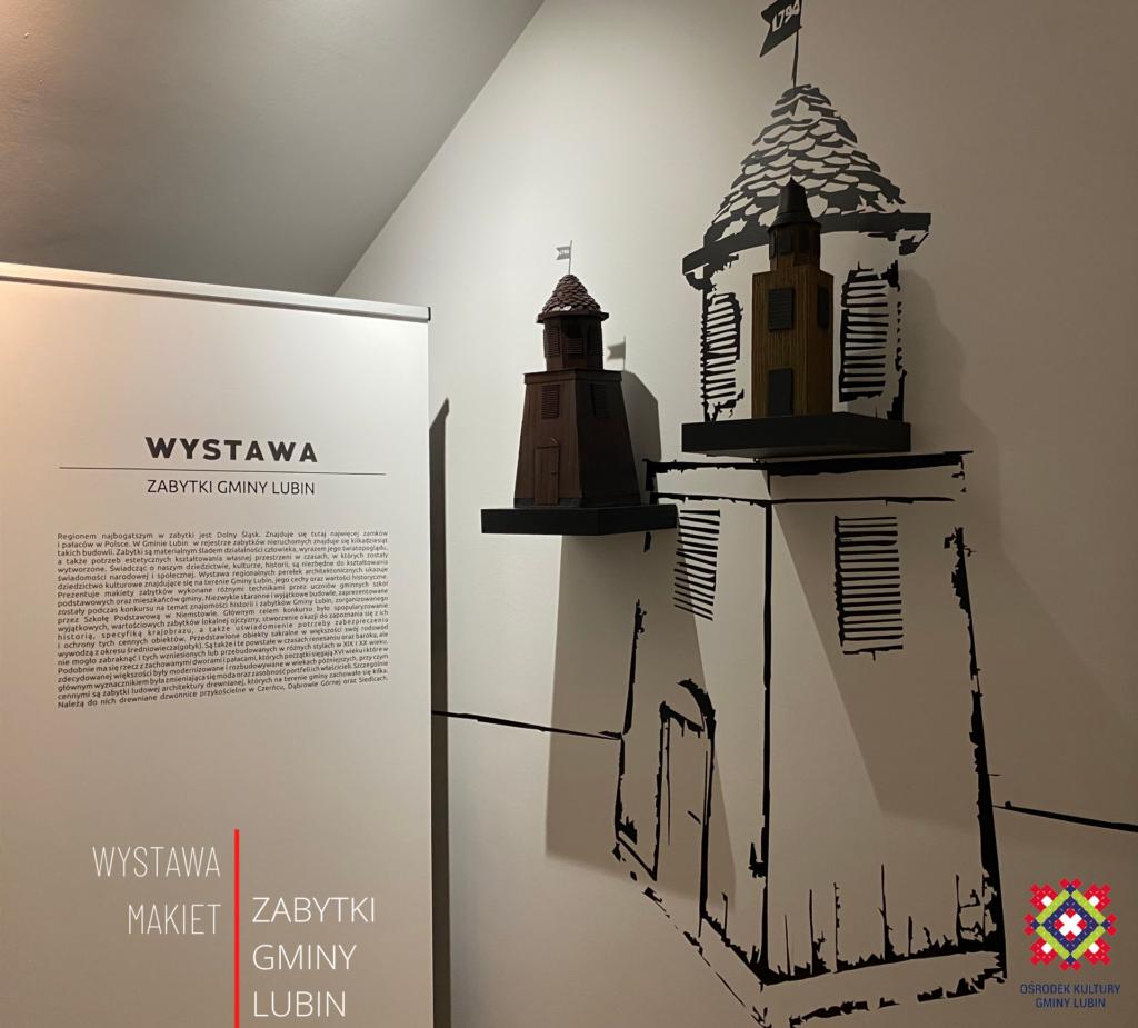 Wystawa Zabytki Kultury Gminy Lubin