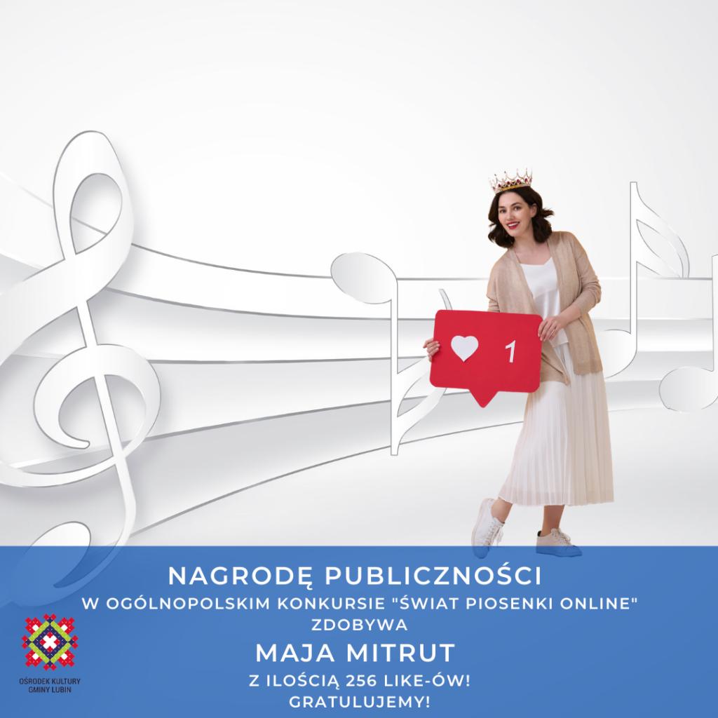 Nagroda Publiczności w konkursie Świat Piosenki Online