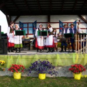 Grupa taneczna w czasie występu