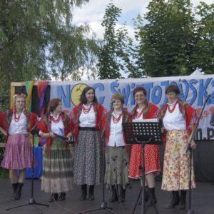 Zespół w trakcie występu