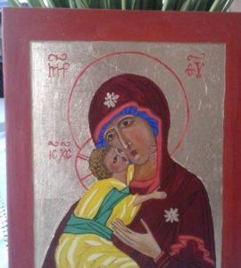 Obraz Maryii z dzieciątkiem