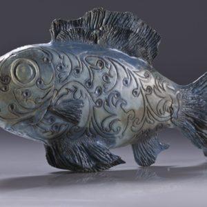 Rzeźba ryby pani Mirosławy