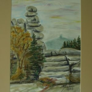 Obraz przedstawiający kamienie