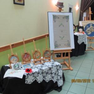 Wystawa dzieł Pani Marii Galuby
