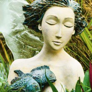 Rzeźba kobiety pani Mirosławy