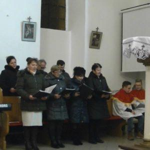 Śpiew w kościele zespołu Siedlecka Nuta