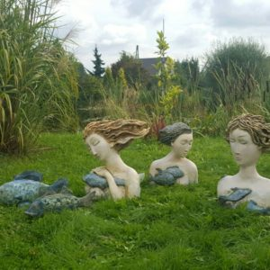 Rzeźby sesja w Ogrodzie Freya Bukowna 2017