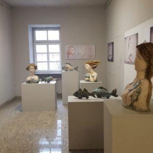 Wystawa prac pani Mirosławy