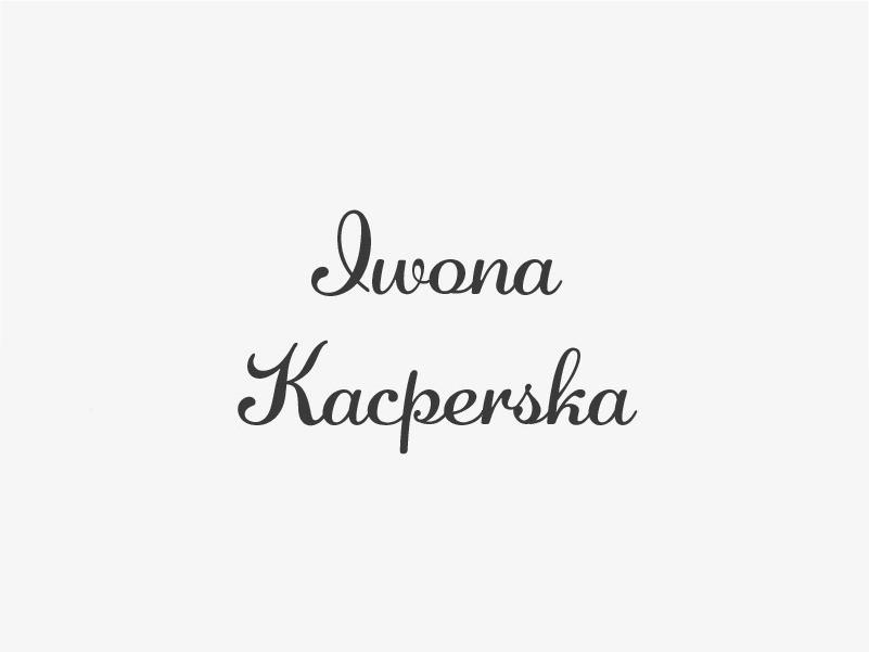 Iwona Kacperska z Bukownej