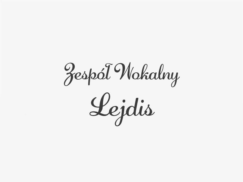 Zespół wokalny LEJDIS ze Składowic