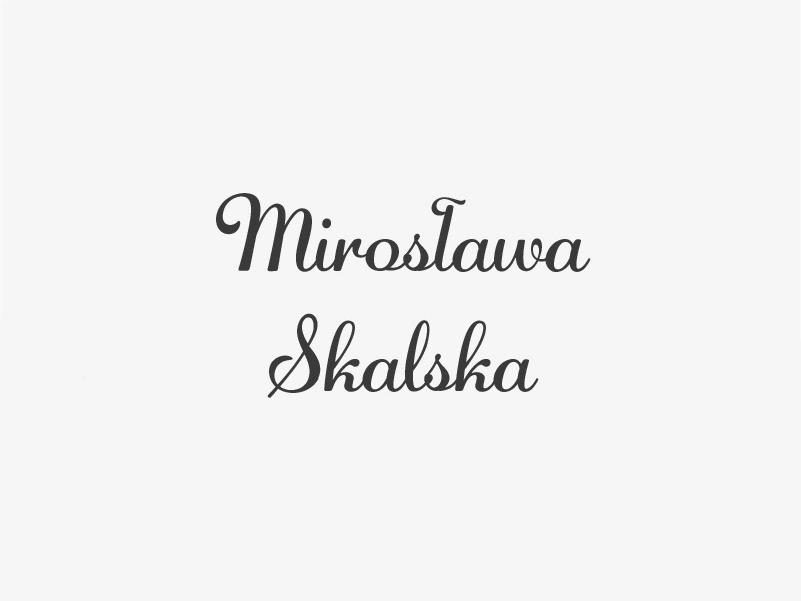 anioły kultury- Mirosława Skalska