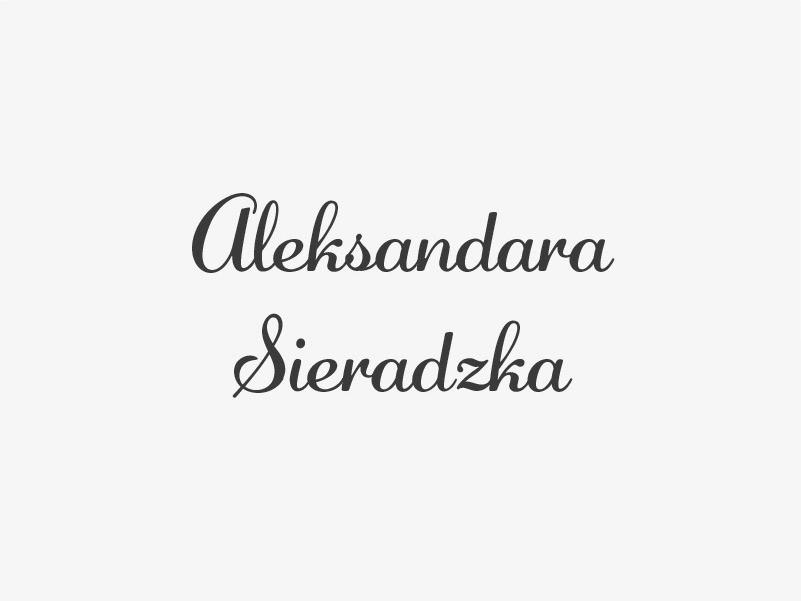 anioły kultury-Aleksandra Sieradzka