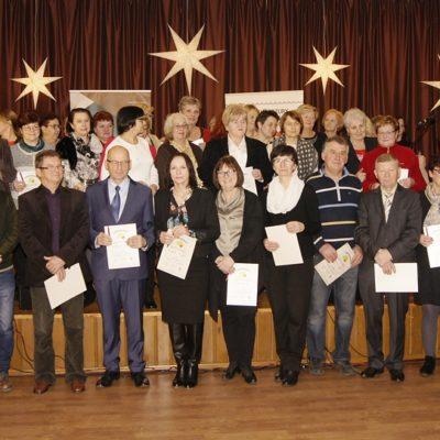 Uczestnicy akademii senioralnej