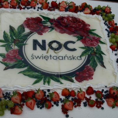 Noc Świętojańska 2018 Gminy Lubin-tort