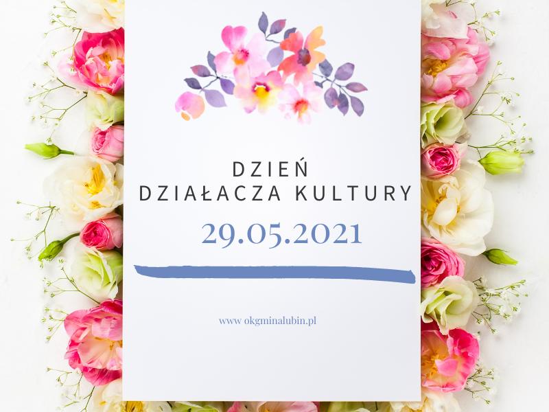 dzień działacza kultury i kwiaty