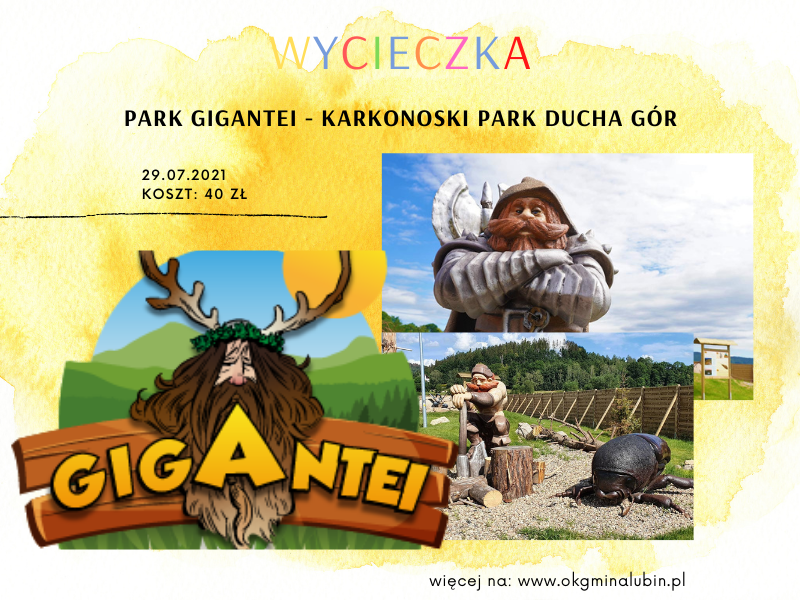 Park Gigantei Wycieczka