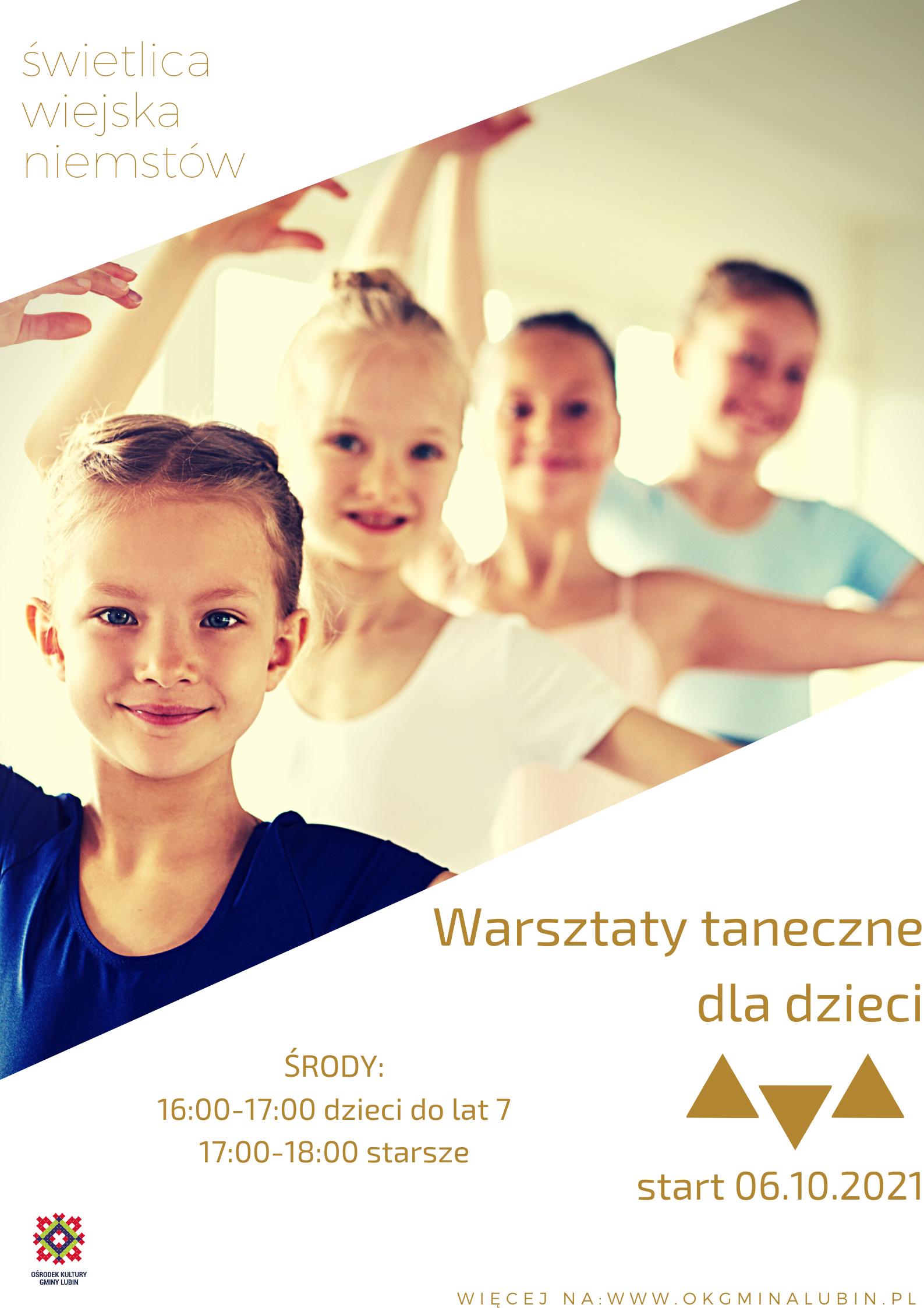 zajęcia taneczne dla dzieci w niemstowie